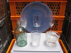Quantity of various style glassware