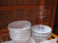 Quantity of various style crockery and glassware
