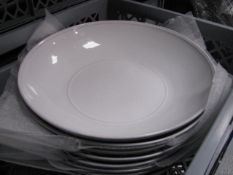 Quantity of various style crockery, glassware and Enamel tableware