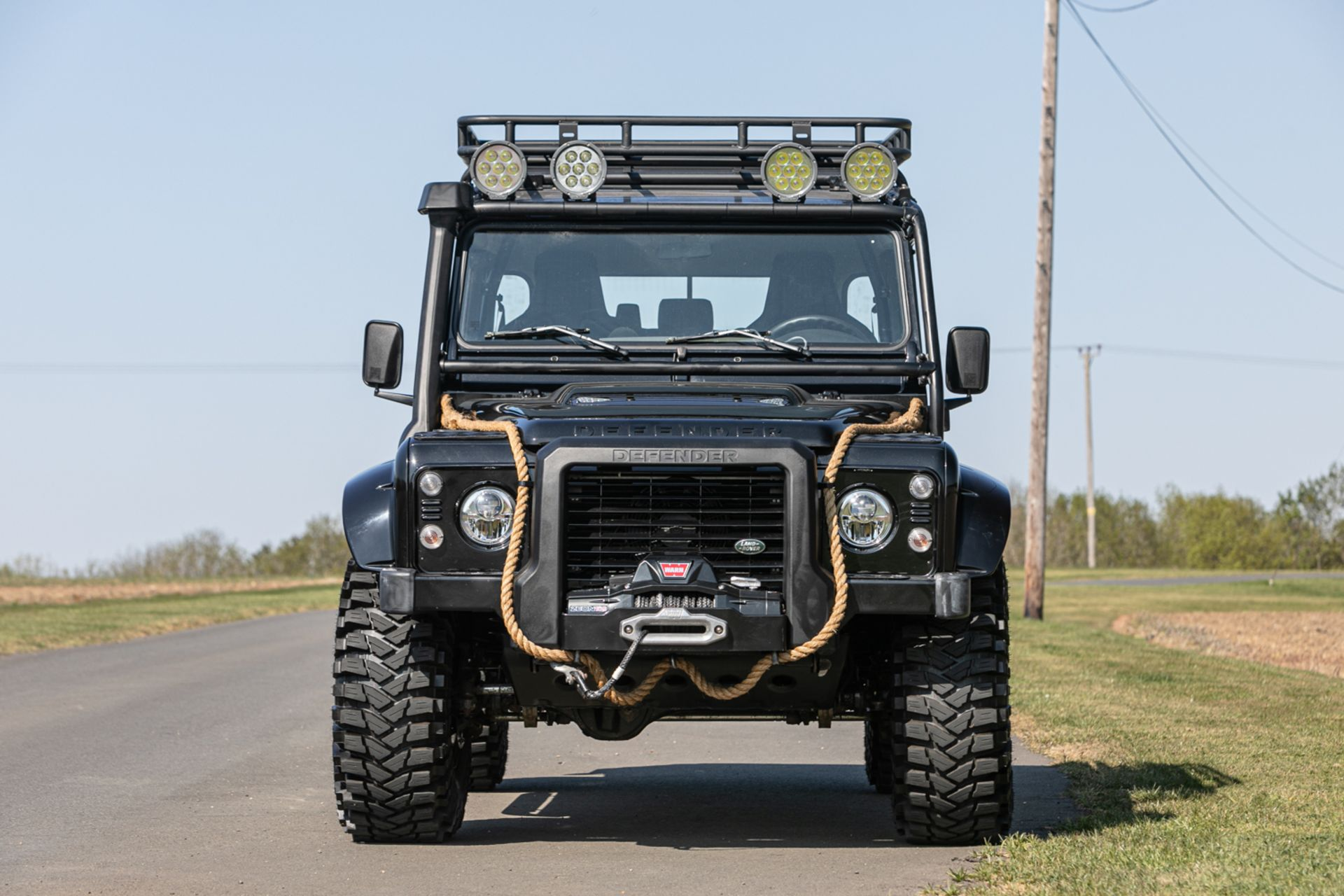 Lot 124 - 2015 Land Rover Defender 110 SVX 'Spectre' JB24