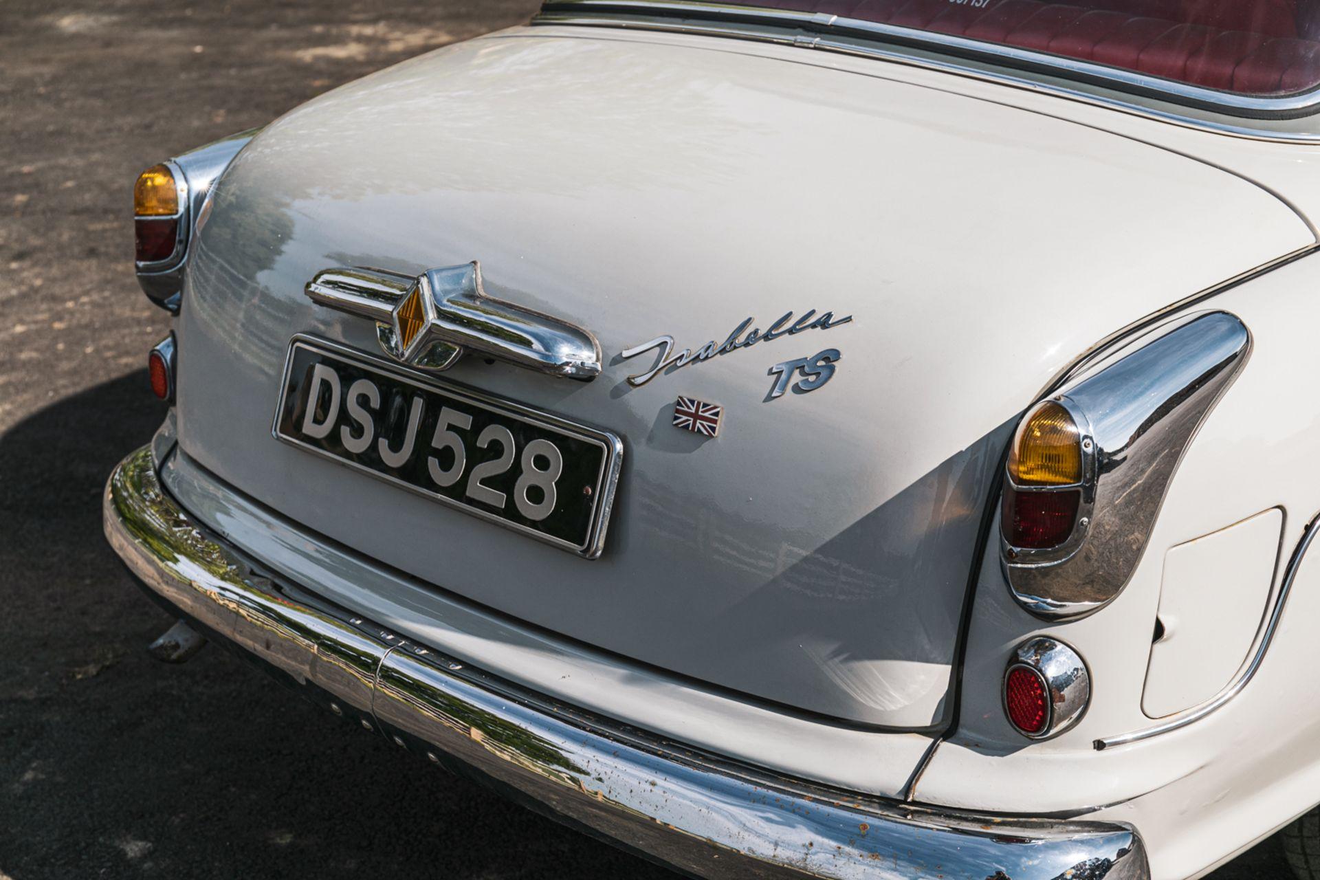 Lot 106 - 1958 Borgward Isabella TS Saloon