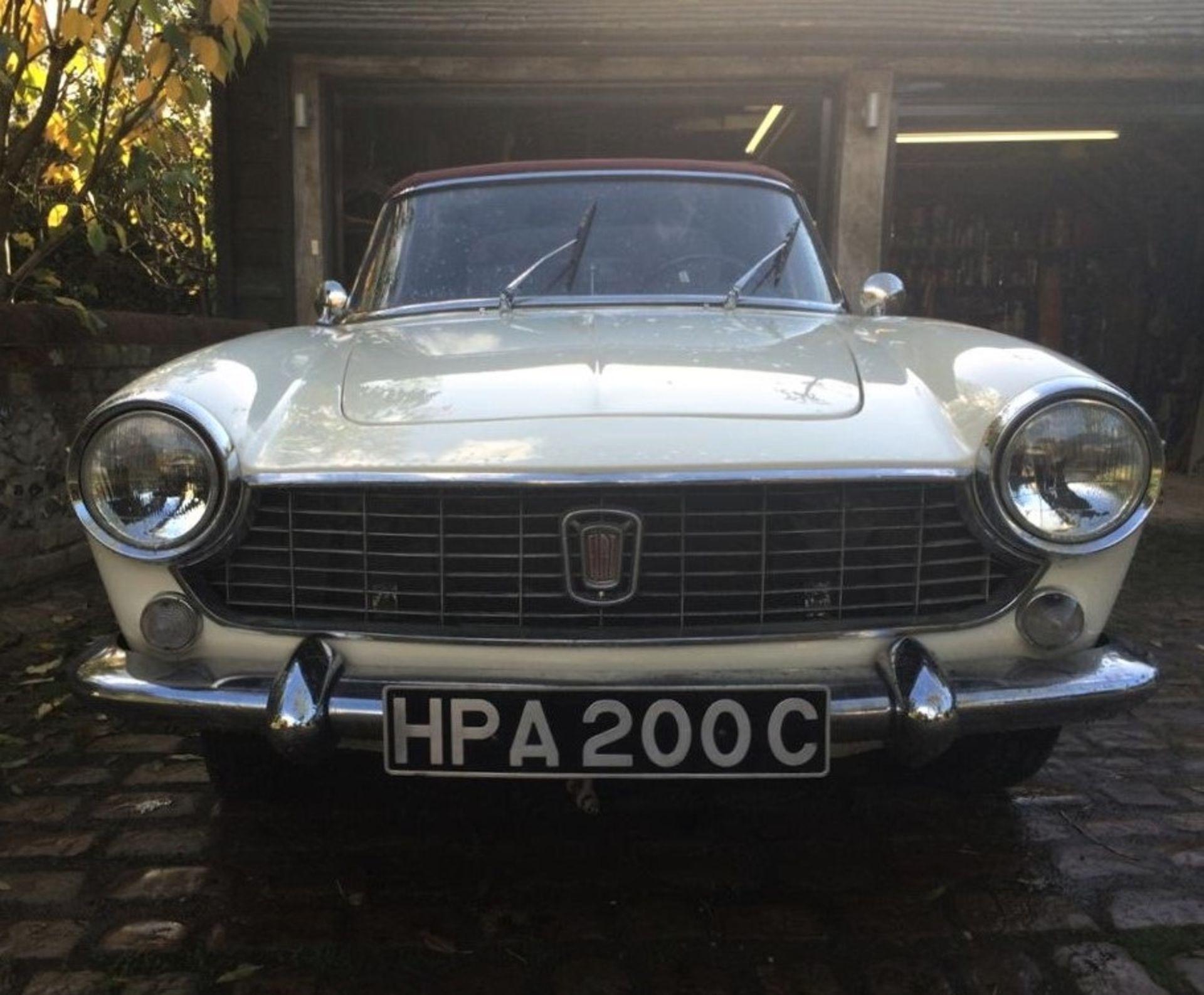 Lot 191 - 1965 Fiat 1500 Cabriolet