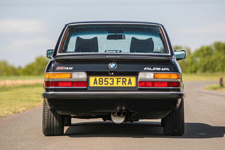 Lot 138 - 1983 BMW Alpina B9 3.5 (E28) Manual