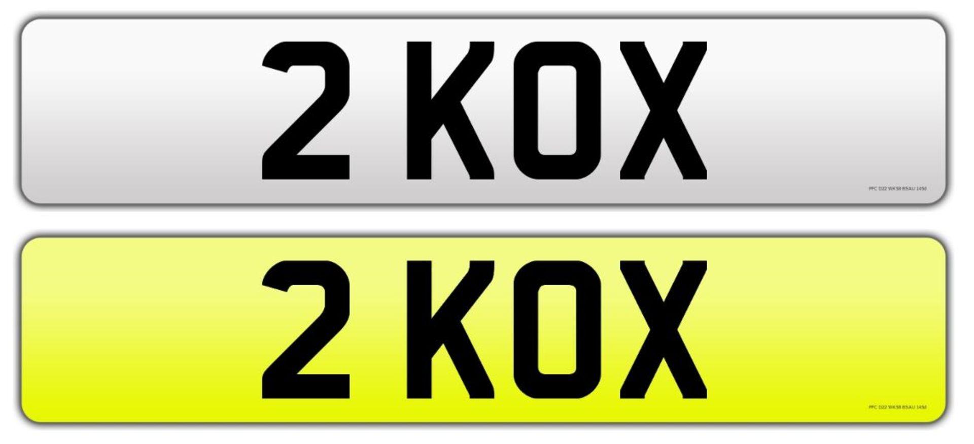 Lot 165 - Registration number 2 KOX