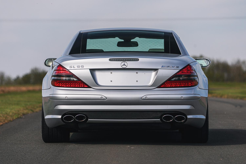 Lot 125 - 2006 Mercedes-Benz SL55 AMG (R230)
