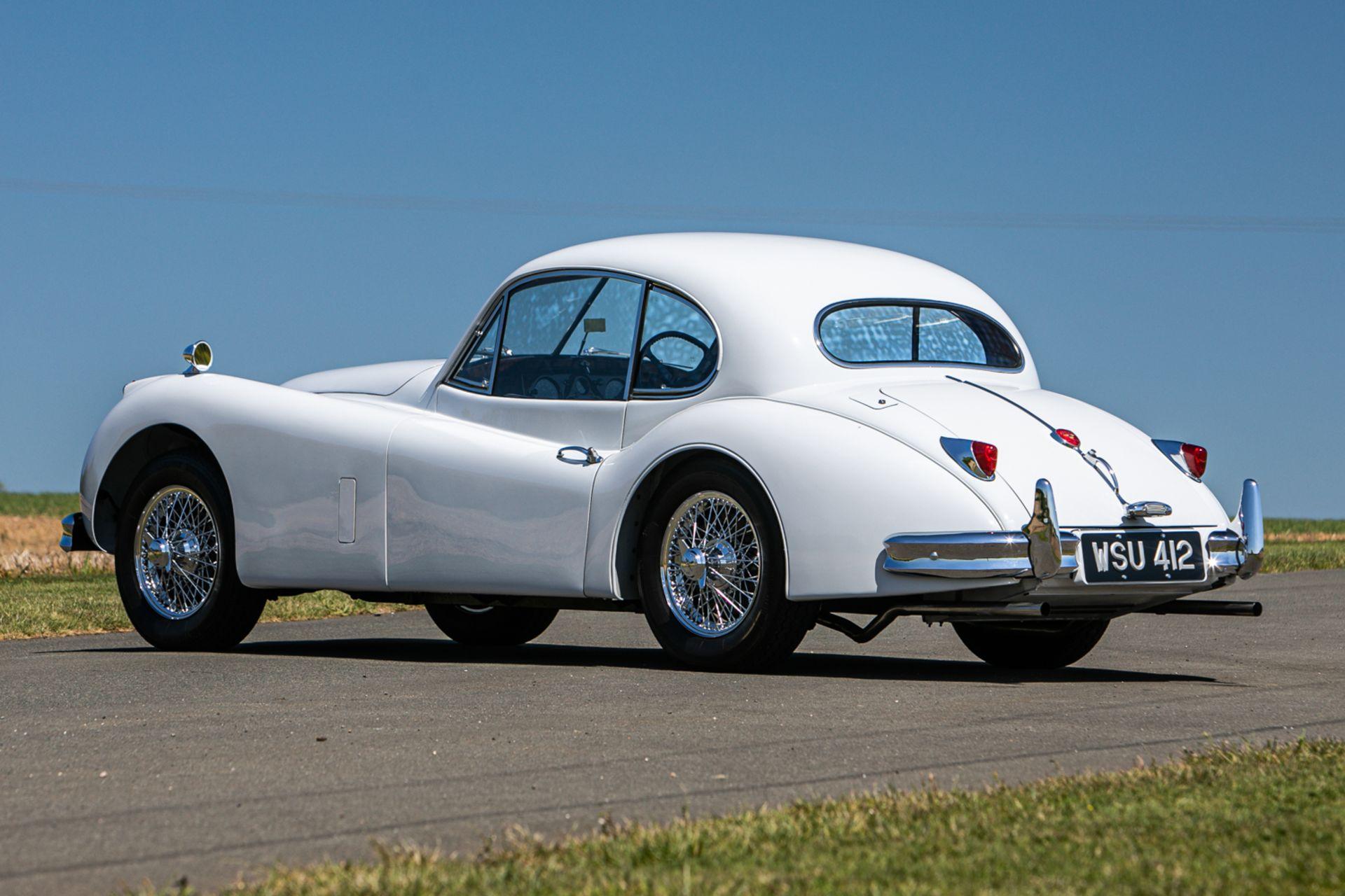 Lot 159 - 1955 Jaguar XK140 SE 3.4-litre FHC