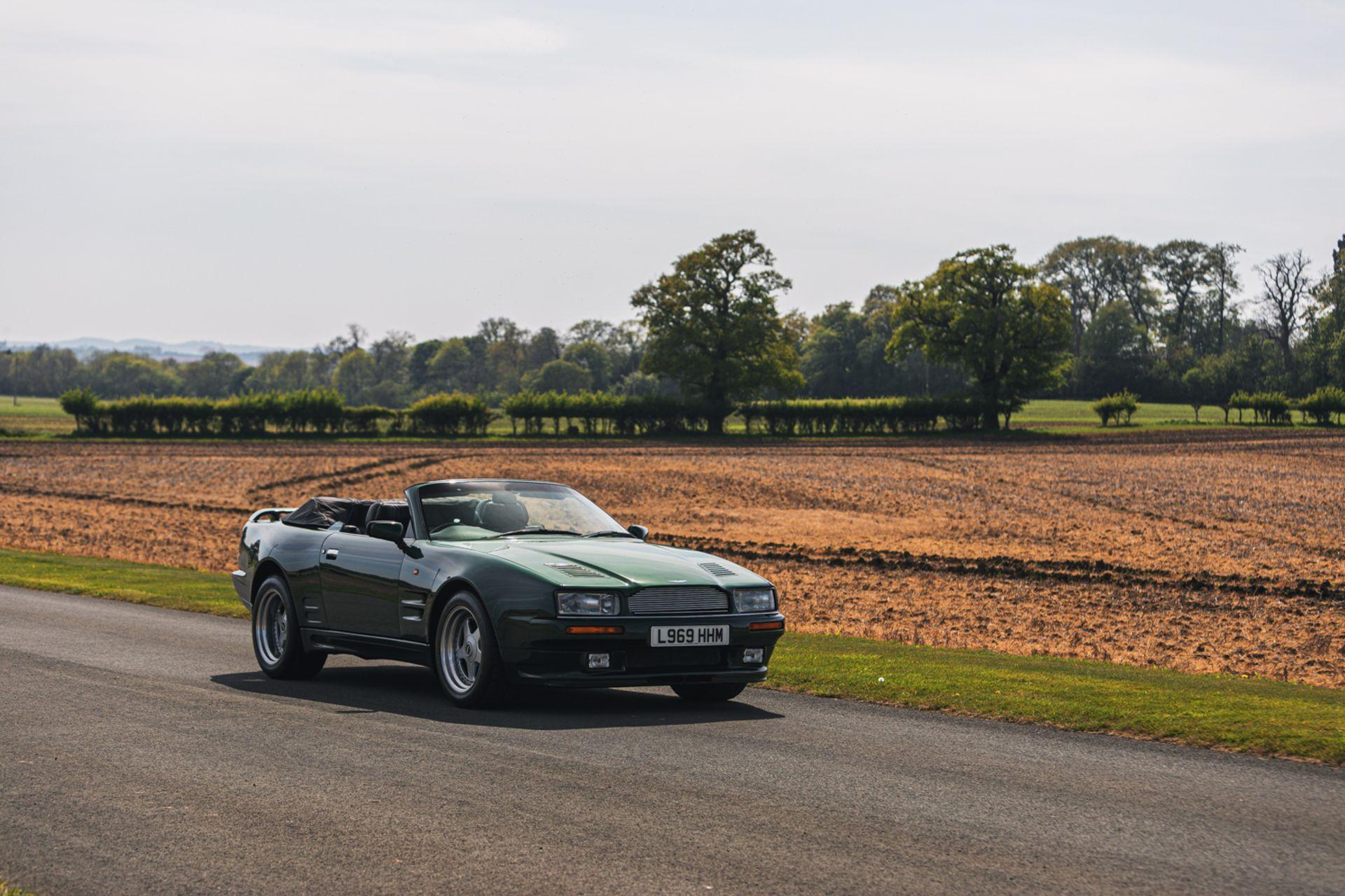 Lot 119 - 1994 Aston Martin Virage 'Widebody' Volante (6.3-Litre)