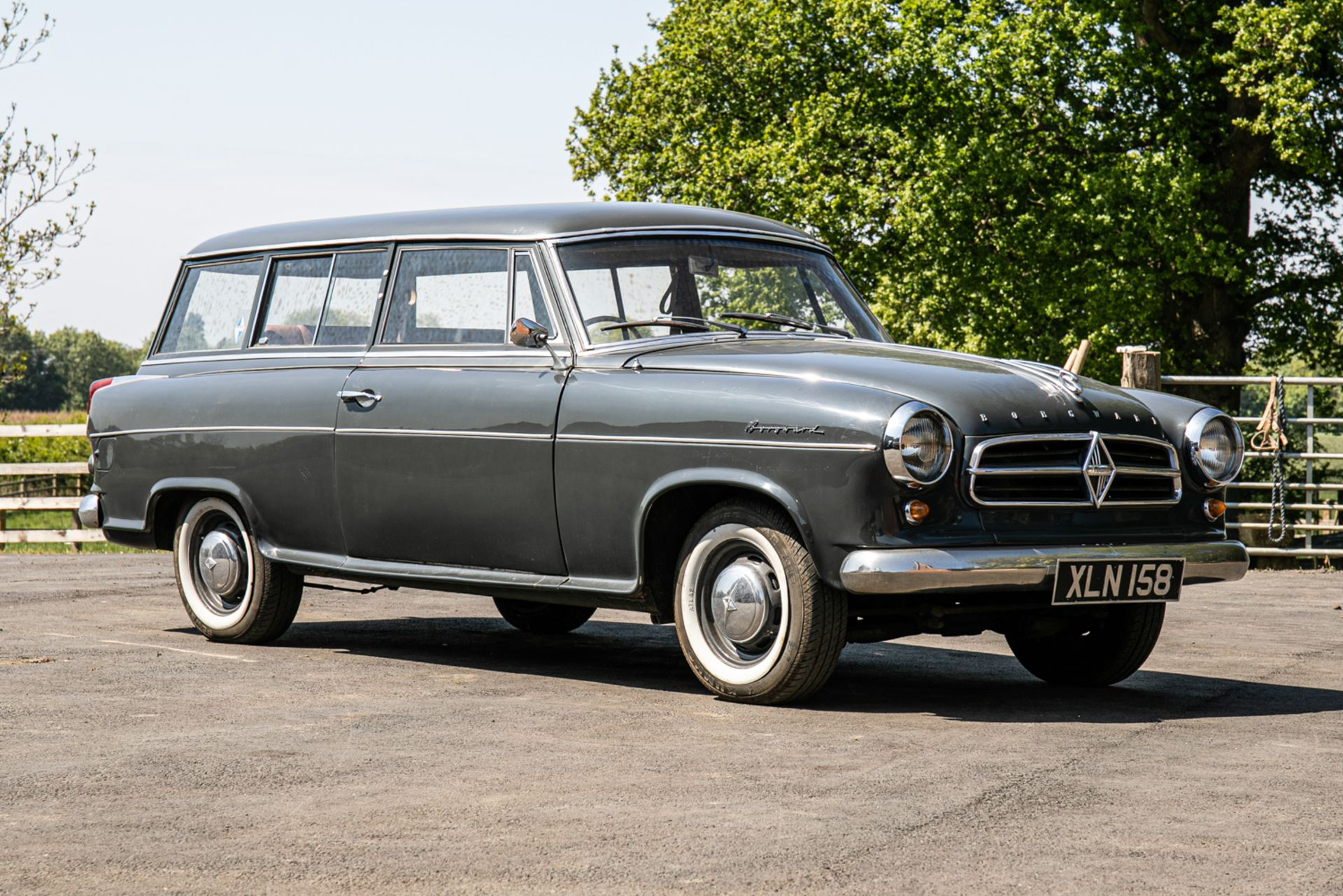Lot 109 - 1959 Borgward Isabella Combi