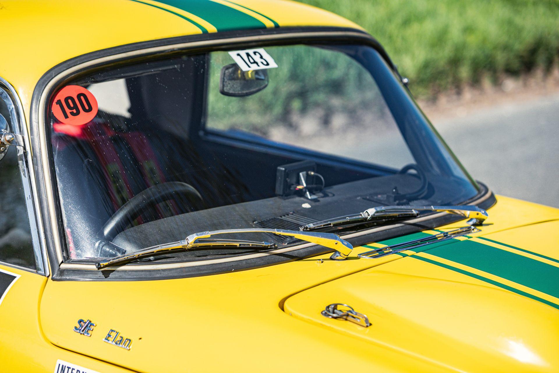 Lot 133 - 1966 Lotus Elan S3 Historic Rally Car