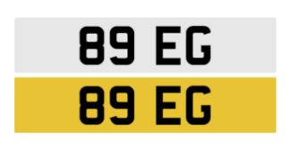 Registration number 89 EG