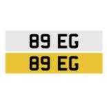 Registration number 89 EG
