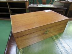 Mahogany writing slope cum lectern.