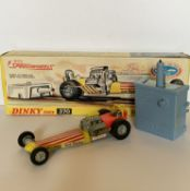 A boxed Dinky Toys 370 Dragster Set