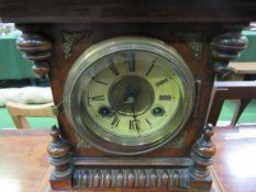 Junghans 19th Century Architectural mantel clock