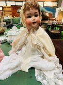 Schützmeister & Quendt 201-12 22inch toddler with vintage clothes