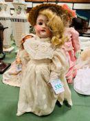 Kley & Hahn 250 O1/2 walking 13inch girl doll