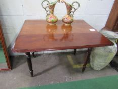 Mahogany Pembroke Table.