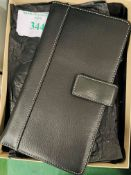Links of London leather wallet/card holder, dust bag, original box with ribbon.
