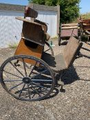 EXERCISE CART built by Henry Bowers of Devon (?) to suit 13 to 15.2hh. Lot 18 is located near Liph