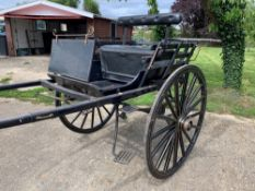 NORFOLK CART built by Wraight of Ramsgate to suit 13.2 to 14.2hh. Lots 36 is located near Wymondha