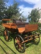 WAGONETTE believed to be of French origin, circa 1900's; to suit 13.2 pair or 15.2hh single.