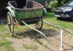 GOVERNESS CART built by R. Disturnal & Co. Wednesbury, circa 1917 to suit 14 to 15hh. Lot 29 can be