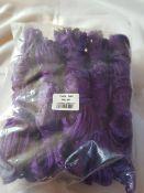 10 x new hay nets in purple