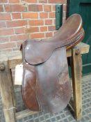 Saddle by M.E.Howey, D-D 6ins, 16ins