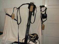 Set of plastic/whitemetal pony harness; no collar
