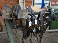 Set of donkey harness