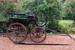 WAGONETTE built by Fa. Carl Wolf or Fa. Kadner & Co., of Rosswein, Germany