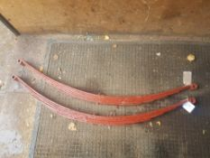 Pair of cart springs