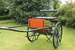 TWO-WHEEL MARATHON CARRIAGE built by Bennington Carriages, chassis no. 6551, to suit 14 to 16hh.