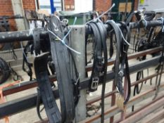 Set of Zilco harness for a small pony; 1 trace missing
