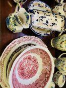 Quantity of Mason's china.