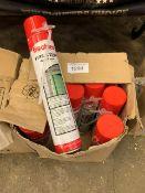 35 x 750ml Fischer firestop hand foam cans