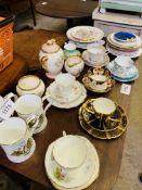 Quantity of decorative china.