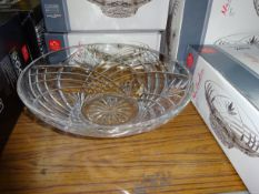 Melodia crystal centrepiece bowl. This item carries VAT.