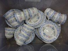 12 piece part Royal Doulton 'Coniston' tea set.