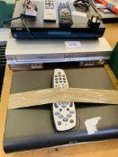 TV recorder, DVD recorder; Sky HD box.