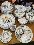 Portmeirion 'The Botanic Garden' tableware, approximately 30 pieces.