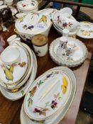 Approximately 20 pieces of Royal Worcester 'Evesham'.