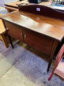Mahogany small sideboard