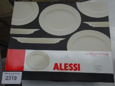 4 large oval plates