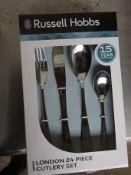 Russell Hobbs 24pc cutlery set