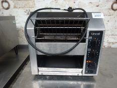 Lincat rotary toaster