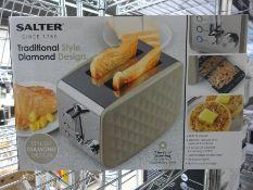 Salter 2 slice toaster
