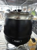 New soup kettle