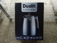 Dualit cafetiere