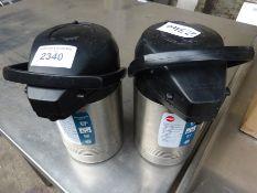 2 flasks